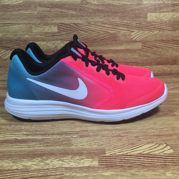 Nike Revolution Girls Size 6Y Blue Running Trainer Shoes Womens 7.5